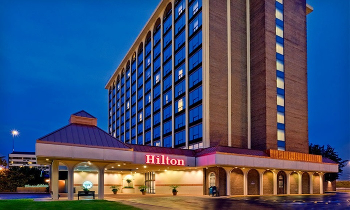null - Richmond: Stay for Up to Four with Optional Breakfast at Hilton Springfield in Springfield, VA