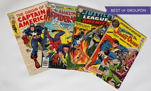 Comic Book Headquarters: $37 for 50–75 Classic Comic Books and 100 Vintage Baseball Cards from Comic Book Headquarters ($550 Value)