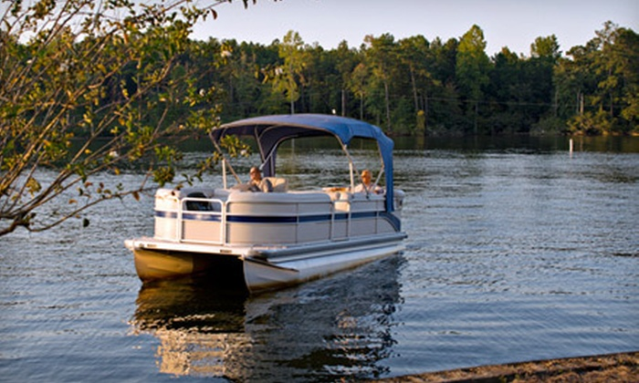 Dubuque American Lady Yacht Cruises - Dubuque: Half- or Full-Day Pontoon Boat Rentals for Up to 10 from Dubuque's American Lady Yacht Cruises (Up to 51% Off)