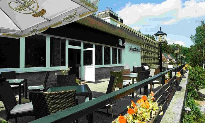 Hotel schwarzbachtal in erlbach sn groupon getaways for Design hotel niedersachsen