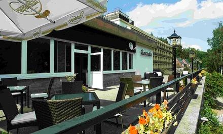 Vogtland: 3-5 oder 8 Tage für Zwei mit Halbpension Plus und Sauna- und Fitnesszugang im Hotel Schwarzbachtal