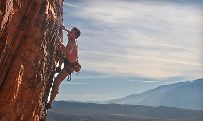 Denver Mountain Guiding - Uptown: Two Hours of Guided Rock Climbing for Two, Four, or Six from Denver Mountain Guiding (Up to Half Off)