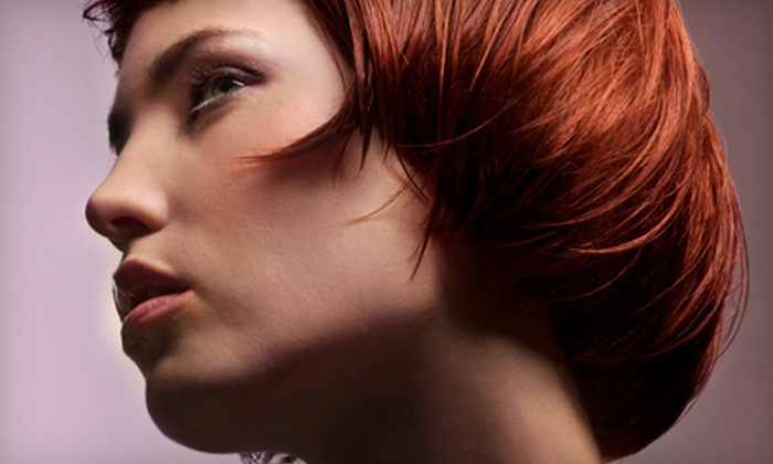 Strands of Hair - Flat Rock: $42 for a Haircut, Style, Conditioning, and Partial Highlights or Full Color at Strands of Hair (Up to $85 Value)