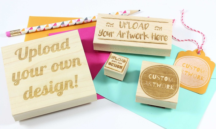 rubberstamps com from 5 groupon