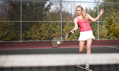 image for One Five Week Tennis Clinic or Three 60-Minute Private Lessons at St Clair Tennis (Up to 61% Off)