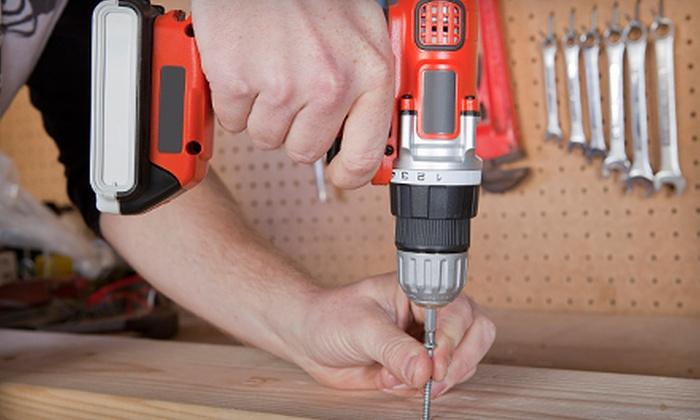 California Handyman Repair Service - Sacramento: 2, 4, or 10 Man-Hours of Handyman Services from California Handyman Repair Service (Up to 84% Off)