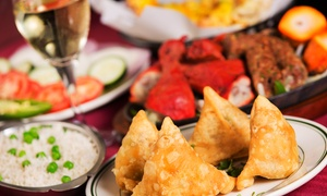 Al Noor Indian Cuisine: Indian Lunch Buffet for Two, Dinner for Two, or Takeout at Al Noor Indian Cuisine (Up to 43% Off)