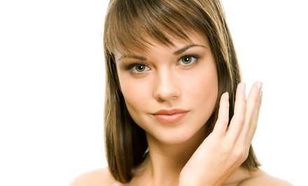 Haircut and Style with Choice of Full Color or Custom Foil Highlights at Inspirations Salon (Up to 52% Off)