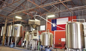 TUPPS Brewery: Brewery Taste and Tour with T-Shirt and Souvenir Pint Glass for One, Two, or Four at TUPPS Brewery (40% Off)