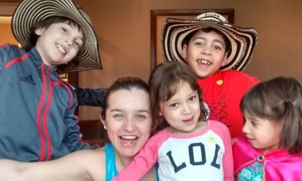 Five Zumba Classes at Zumba Kids (60% Off)