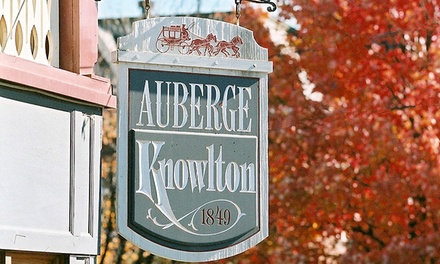 1- or 2-Night Stay for Two with a Meal Discount and Wine Tasting at the Auberge Knowlton (Up to 50% Off)