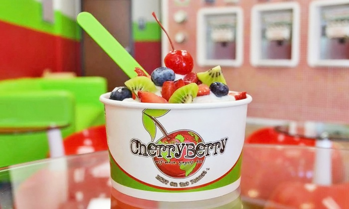 CherryBerry - Multiple Locations: Frozen Yogurt at CherryBerry (40% Off). Four Options Available.