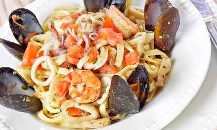 $25 for Italian Dinner Fare and Drinks for Two at Il Forno Caldo ($40 Value)