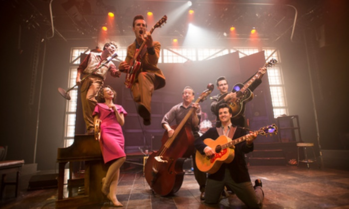 """""""Million Dollar Quartet"""" - Apollo Theater: """"Million Dollar Quartet"""" Rock 'n' Roll Musical at the Apollo Theater on August 7–30 (Up to 49% Off)"""