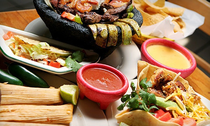 Ta'Carbon - Multiple Locations: $8 for $16 Worth of Mexican Grill Food at Ta'Carbon
