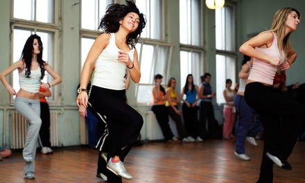 One or Two Months of Unlimited Zumba Classes and Personal Training at The Power Zone (Up to 66% Off)