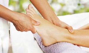 Arvis at Blessed Nails: Reflexology Nail Treatments from Arvis at Blessed Nails (Up to 56% Off). Three Options Available.