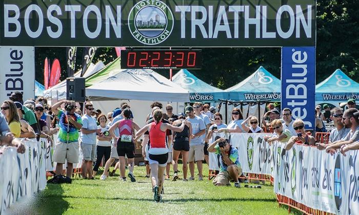 Boston Triathlon - Carson Beach : Newbie or Relay Triathlon Registration for the Boston Triathlon (Up to 48% Off)