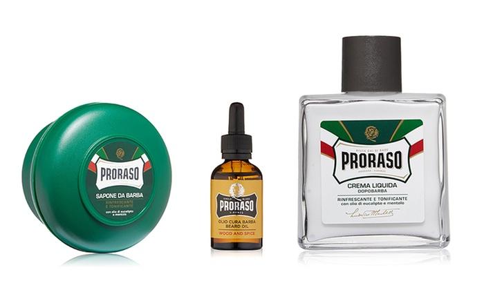 Kit da barba Proraso