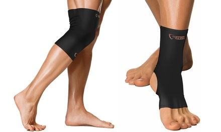 Copper Tough Compression Knee, Ankle, or Elbow Sleeve