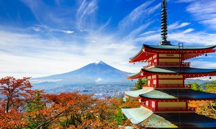 ✈ Japan: 10 daagse groepsrondreis incl. vluchten, verblijf in 4* hotels, excursies, transfers (aanbetaling mogelijk)