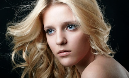 Cut and Condition, or Cut and Full Color or Partial Highlights at Martino Hair, Nail & Skin Salon (Up to 64% Off)