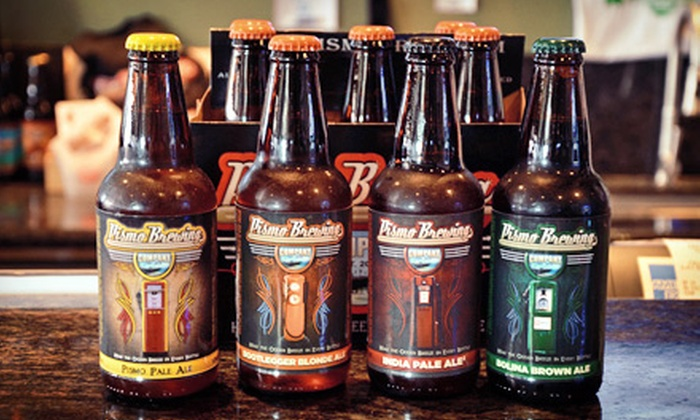 Pismo Brewing Company - Pismo Beach: $5 for $10 Worth of Microbrews, Pub Fare, and Merchandise at Pismo Brewing Company