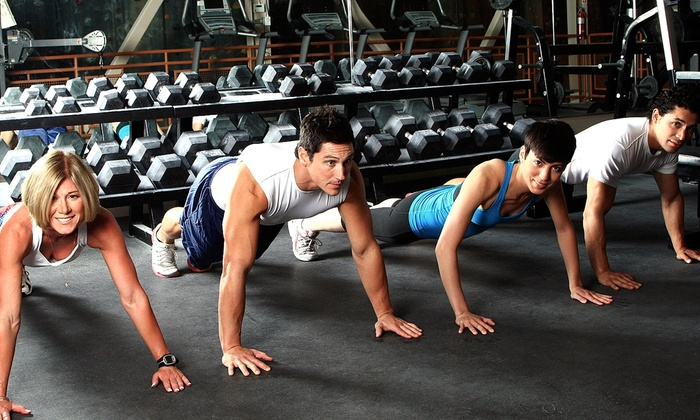 Dynamixx Fitness - Old Bethpage: One- or Two-Month Gym Membership at Dynamixx Fitness (Up to 51% Off)