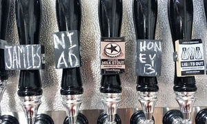 J Wells Brewery: Beer Tasting for Two or Four with Optional Growlers at J Wells Brewery         (Up to 46% Off)