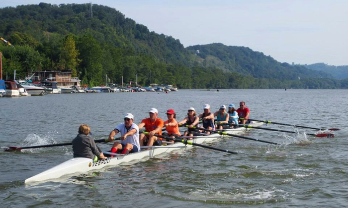Three Rivers Rowing Association - Lambert Boathouse at Washington's Landing: $52 for a Six-Week Rowing Class at Three Rivers Rowing Association ($105 Value). Three Options Available.