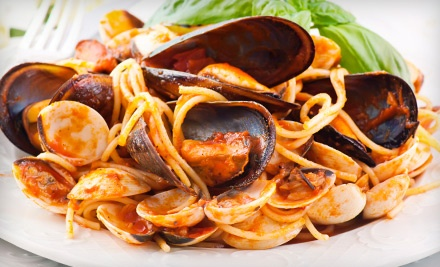 Authentic Italian Food and Drinks at Luna Rossa Italian Grill (Up to 53% Off). Four Options Available.