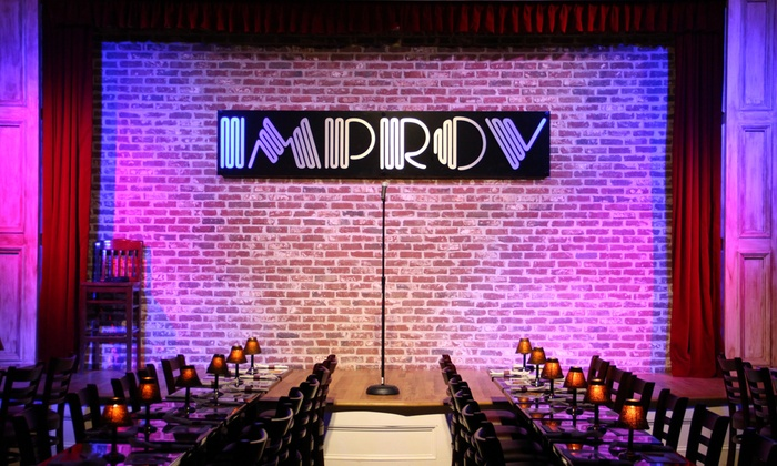 The Atlanta Improv Comedy Club & Dinner Theatre - Andrews Entertainment District: Stand Up for Two at Atlanta Improv Comedy Club & Dinner Theatre and $20 Credit at Czar Ice Bar (Up to 53% Off)