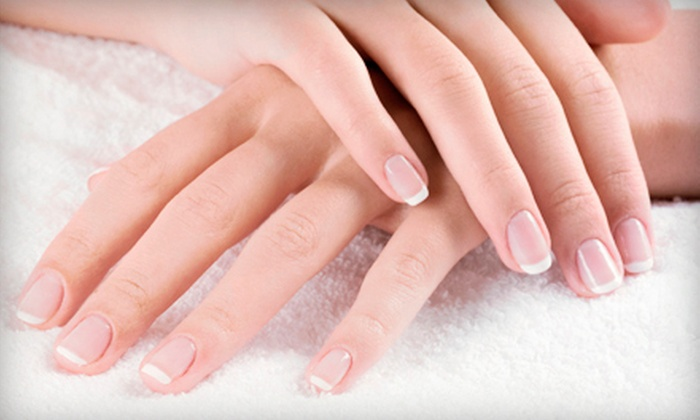 Salon Avalon and Spa - Salon Avalon & Spa: Deluxe Spa Pedicure, Deluxe Spa Manicure with Shellac Polish, or Both at Salon Avalon and Spa (Up to 65% Off)