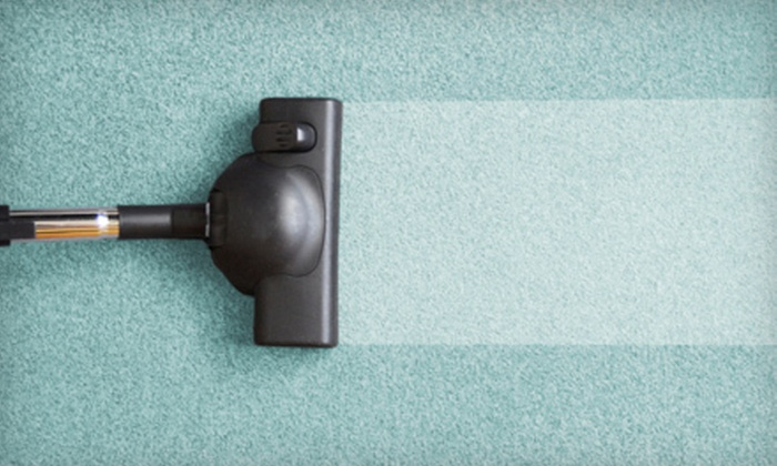 Steam Pros - Goose Island: Steam Carpet Cleaning for Three or Six 12'x12' Rooms from Steam Pros (Up to 58% Off)