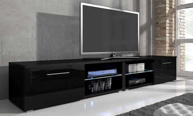 meuble tv samuel groupon shopping. Black Bedroom Furniture Sets. Home Design Ideas