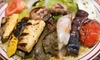 Mediterranean Grill - Multiple Locations: Two-Course Mediterranean Meal for Two or Four at Mediterranean Grill (Up to 59% Off)
