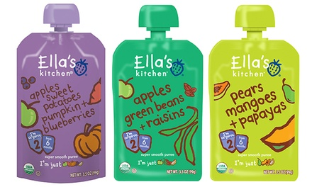 $20 for $30 Worth of Organic Baby Food from Ella's Kitchen