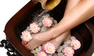Body Talk De Pere: One or Three Ionic Foot-Detox Baths at Rosella's BodyTalk (Up to 62% Off)