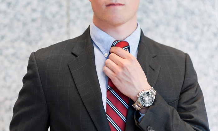 Cuffs & Collars - Cuffs & Collars: $625 for a Men's Tailored Suit Package at Cuffs and Collars (Up to a $1,644 Total Value)