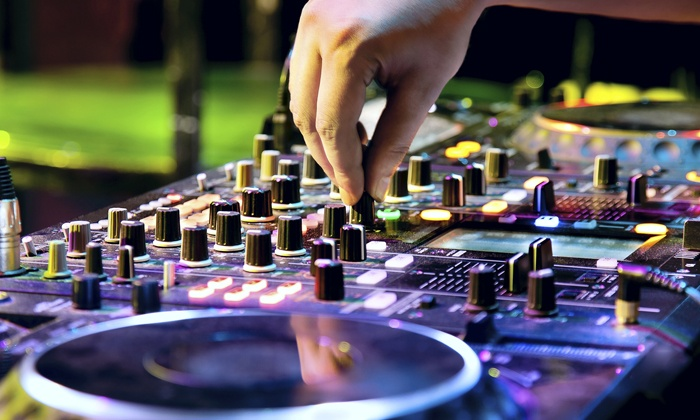 On Track DJ Co. - Charlotte: $475 for Wedding-Reception DJ Service from On Track DJ Co. ($1,200 Value)