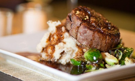 Refined American Cuisine for Lunch or Dinner at Bad Apples Bistro (47% Off)
