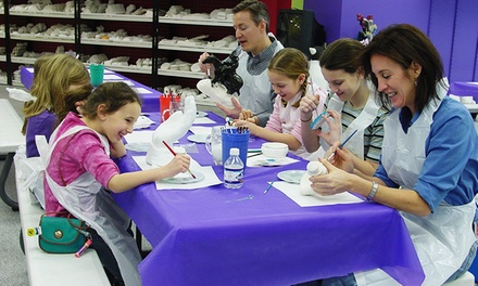 Pottery-Painting Party or $11 for $20 Worth of Painting and Other Activities at The Painted Penguin