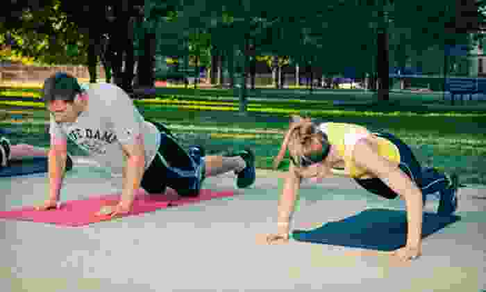 TriFit Boot Camps - Multiple Locations: 8, 16, or 24 Fitness Boot-Camp, Yoga, or Run Club Classes at TriFit Boot Camps (Up to 88% Off)