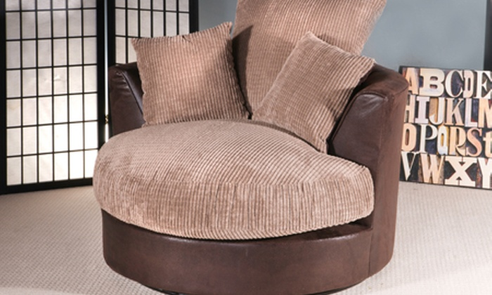 Jumbo Swivel Chairs | Groupon Goods