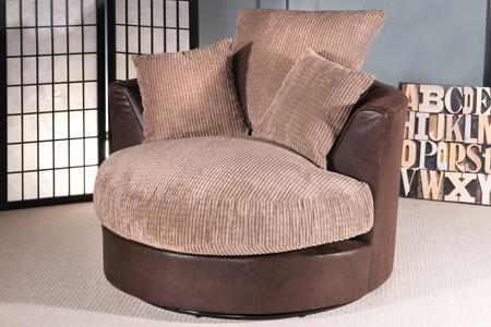 Jumbo Swivel Chairs | Groupon Goods