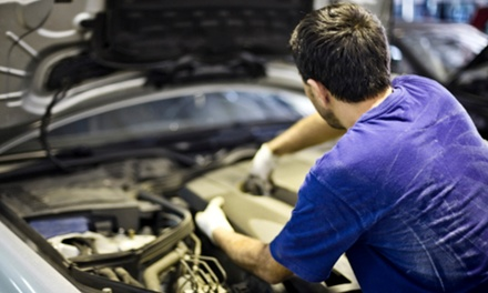 MOT with Safety Check at Stars Garage (75% Off)