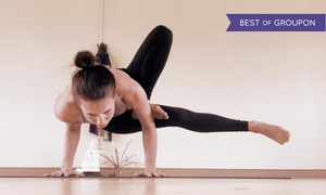 Eugene Yoga: 10 or 20 Yoga Classes or One Month of Unlimited Classes at Eugene Yoga (Up to 65% Off)