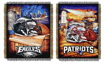 "Northwest NFL Home Field Advantage 60"" x 48"" Tapestry Throw Blanket"