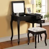 Priscilla Vanity Table and Stool Set
