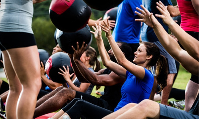 Camp Gladiator - Multiple Locations: $69 for Four Weeks of Unlimited Boot-Camp Sessions at Camp Gladiator ($140 Value)